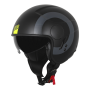 Casco Origine Sierra Round Matt Fluo Yellow - Black